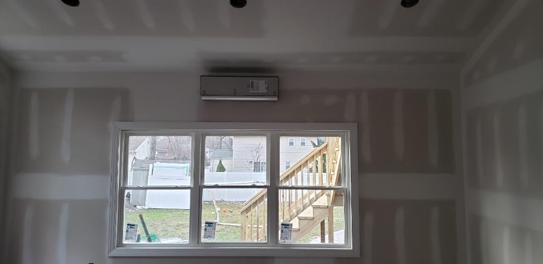 Clark, NJ - Mini split system installed today in clark