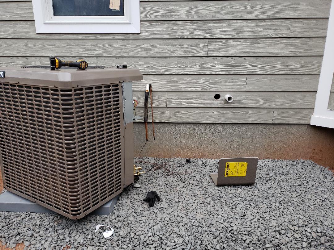 Clark, NJ - Installing condensers in Clark today