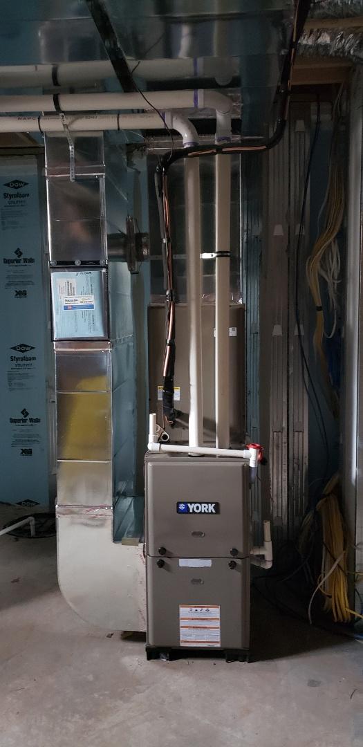 Bernardsville, NJ - System installation complete in bernardsville