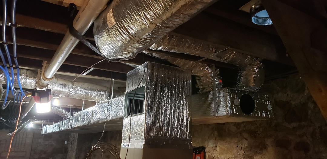 Cranford, NJ - Installation of the ac system for commercial building Cranford, NJ