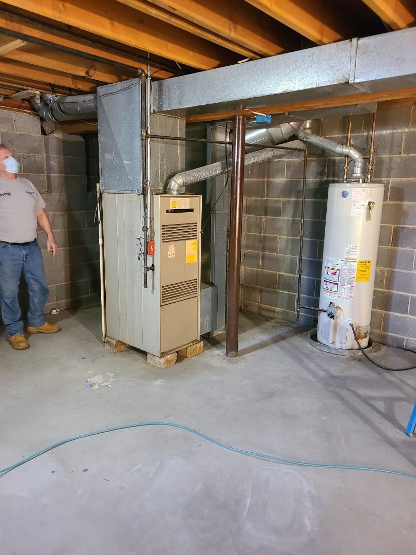 Edison, NJ - Preparation for replacing furnace Edison, NJ