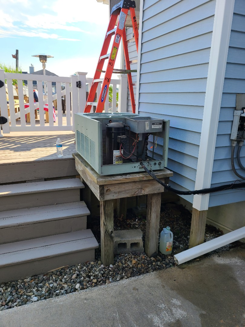 Berkeley Township, NJ - Coil condenser furnace replacement in Bayville