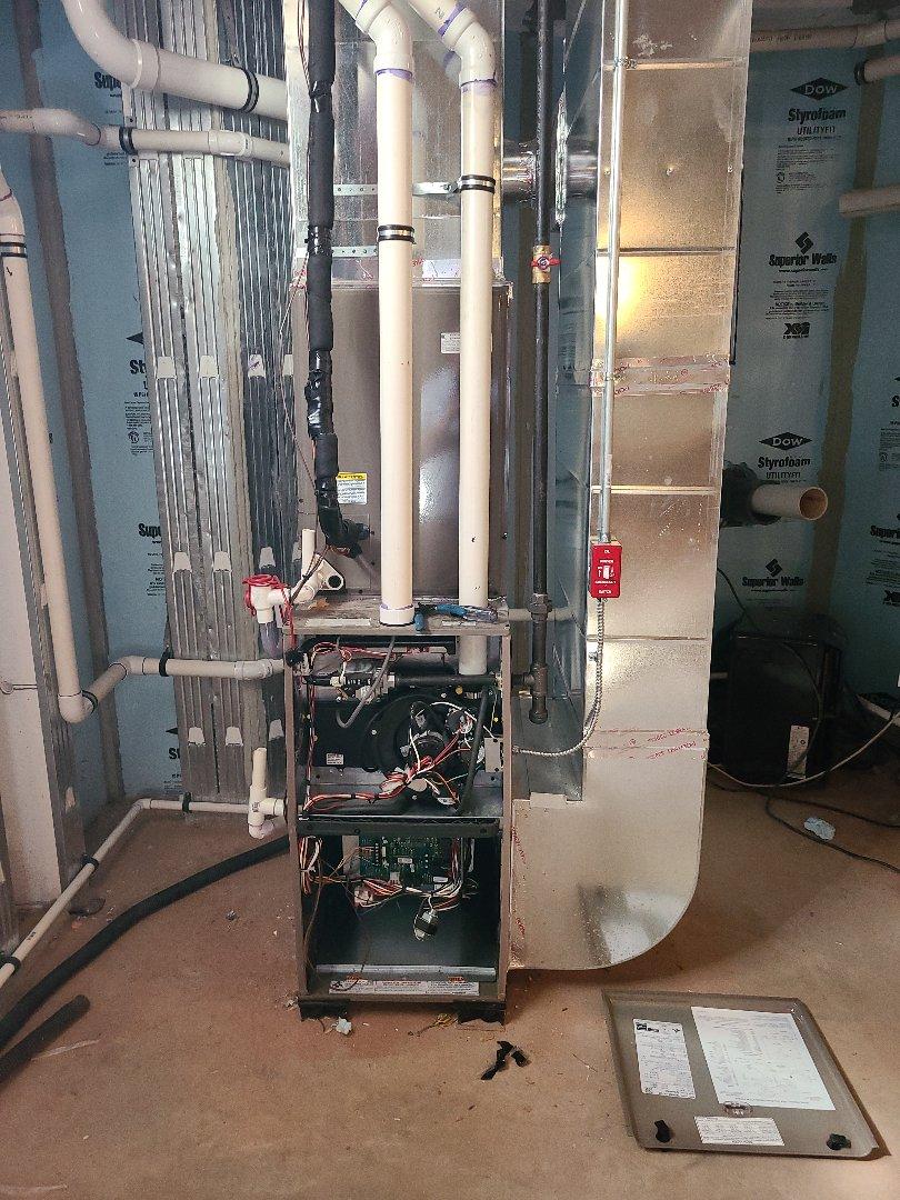 Bernardsville, NJ - Finishing two systems in Bernardsville today