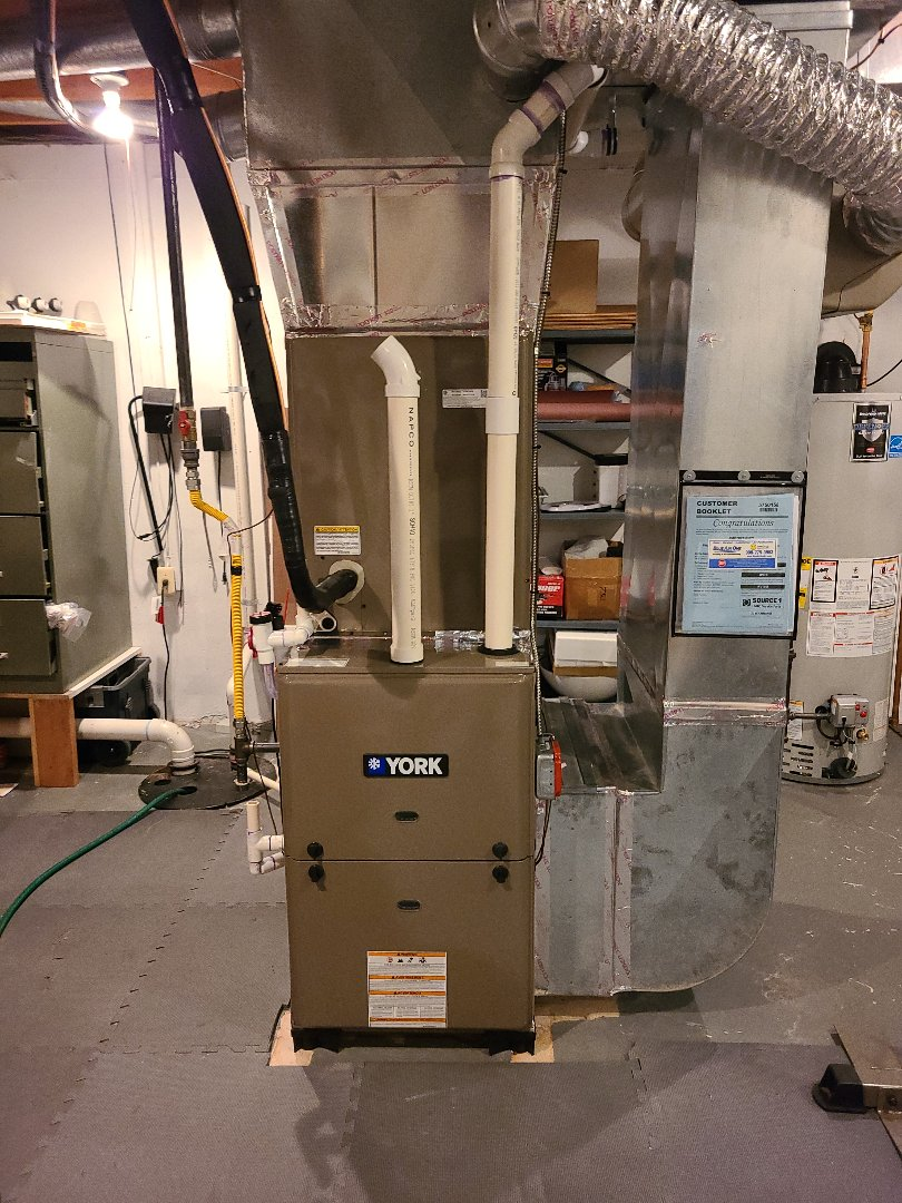 Bridgewater Township, NJ - Finished coil furnace installation in bridgewater
