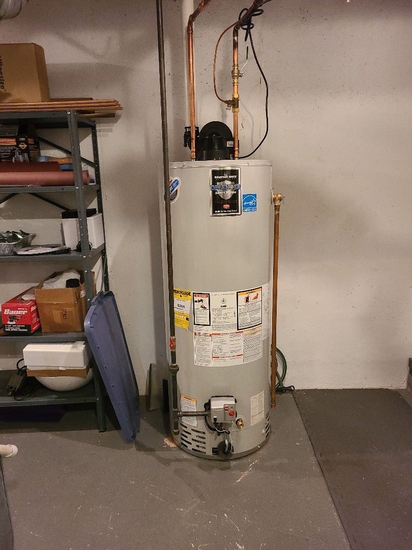 Bridgewater Township, NJ - Finished water heater installation in bridgewater