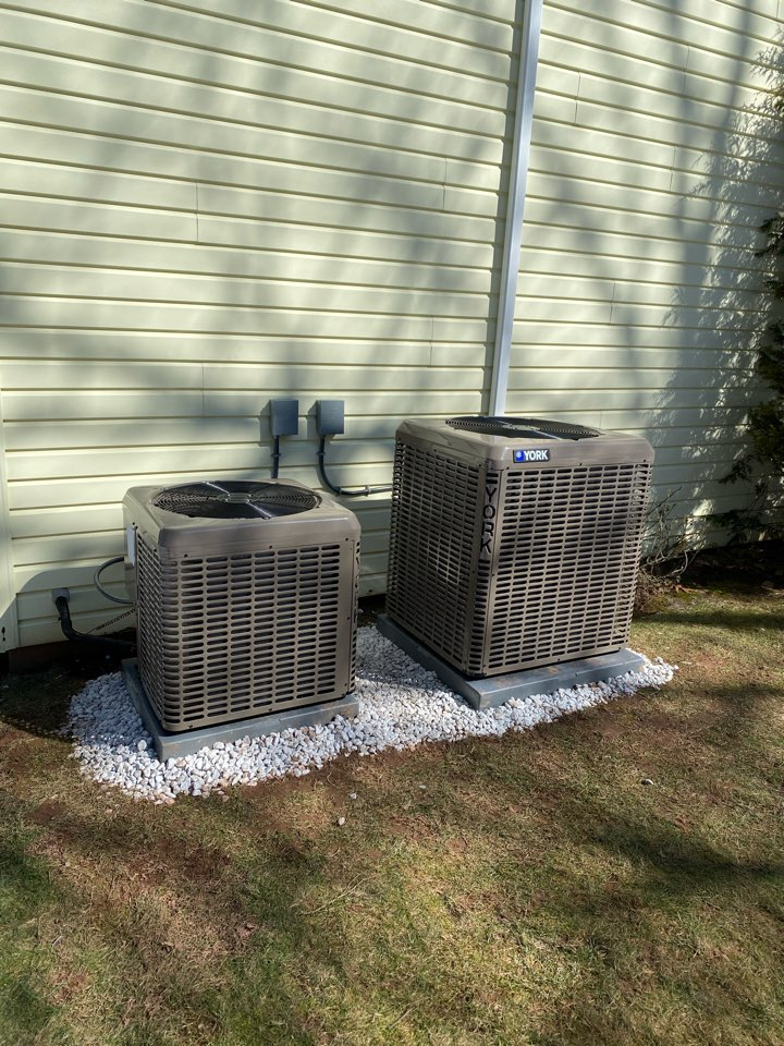 Just finished install of two completely new ac system in Fanwood Mj
