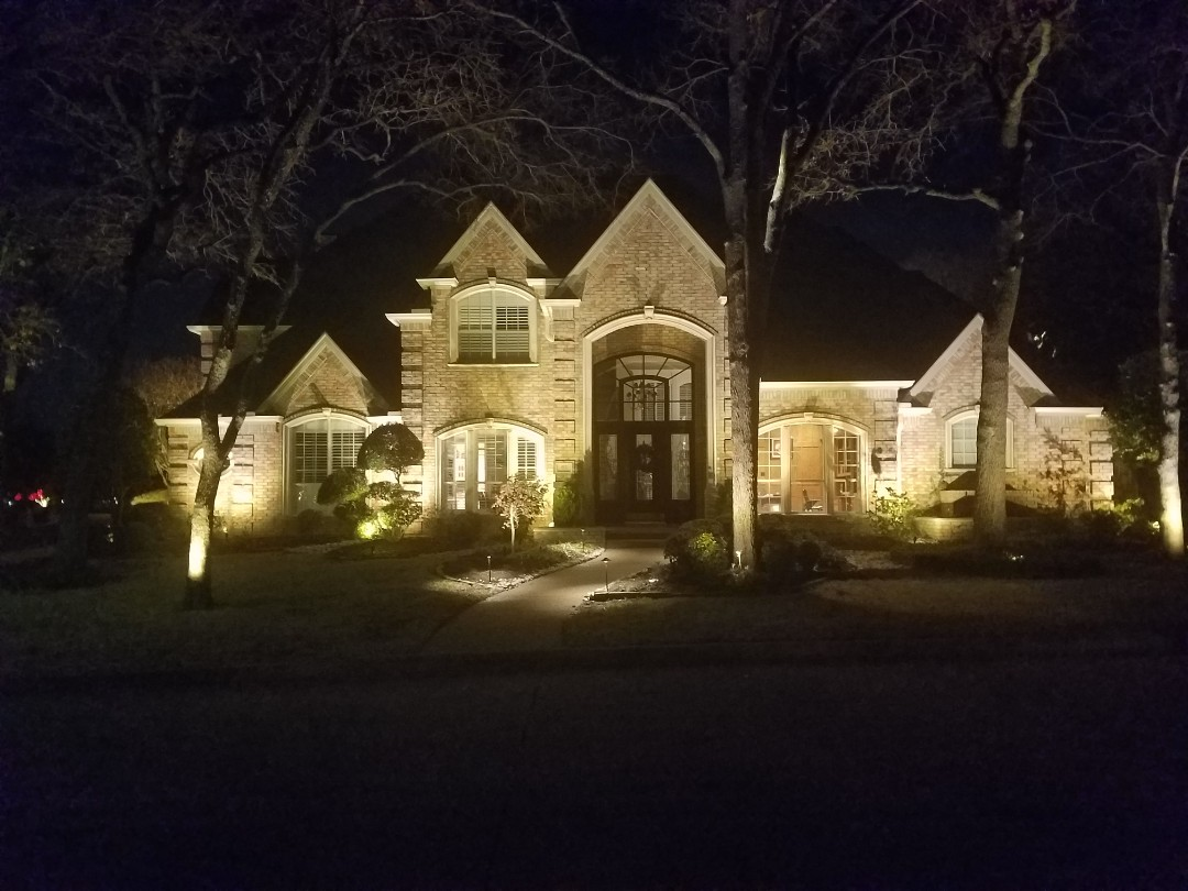 Fort Worth, TX - Installed kichler lighting product on home in southlake.