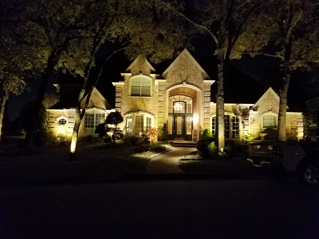 Fort Worth, TX - Installed new kichler lighting system in southlake