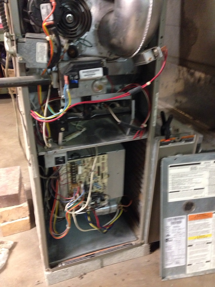Gahanna, OH - Fall furnace tuneup on a 10-year-old carrier system