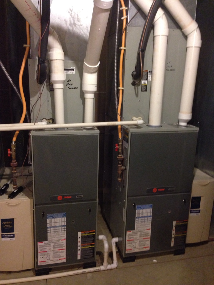 Powell, OH - Completing two AC tune ups in the new Albany area