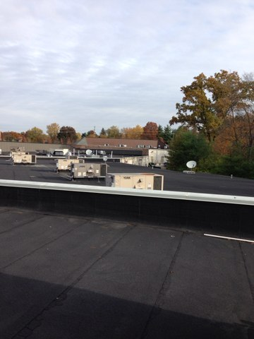 Gahanna, OH - Something peaceful about rooftop units in the morning.
