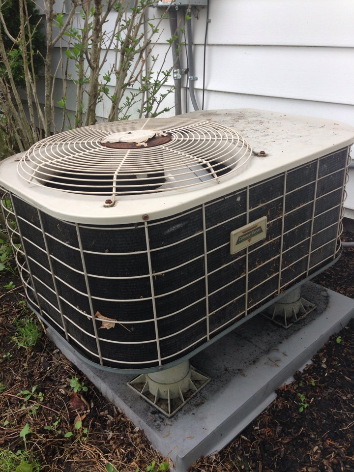 Lewis Center, OH - Coleman air conditioner in need of troubleshooting to find source of problem.