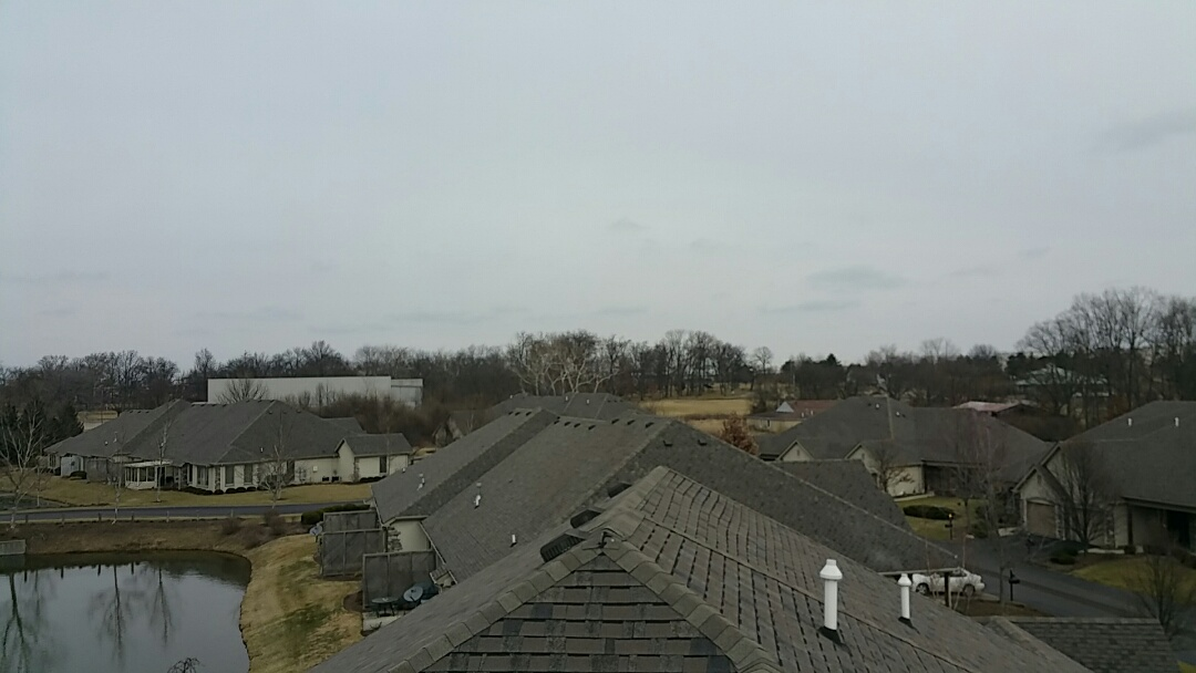 Springdale, OH - Commercial homeowner's association inspection for wind damage.