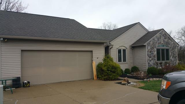 Cincinnati, OH - Roofing and skylight replacement due to hail damage, paid in full by the insurance company.