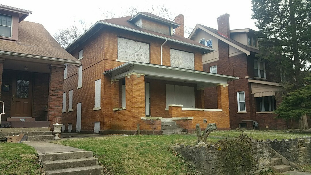 Columbus, OH - Inspection for a whole home renovation on a currently vacant property in the Old Oaks neighborhood.