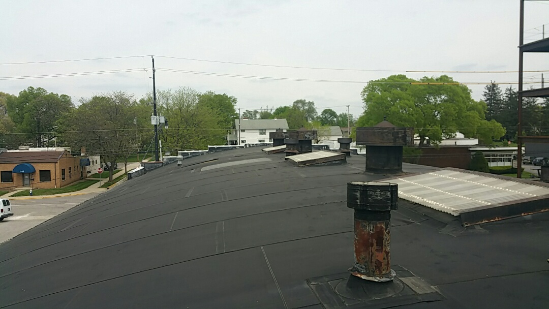 Columbus, OH - Commercial flat roof inspection for replacement with a new EPDM system.