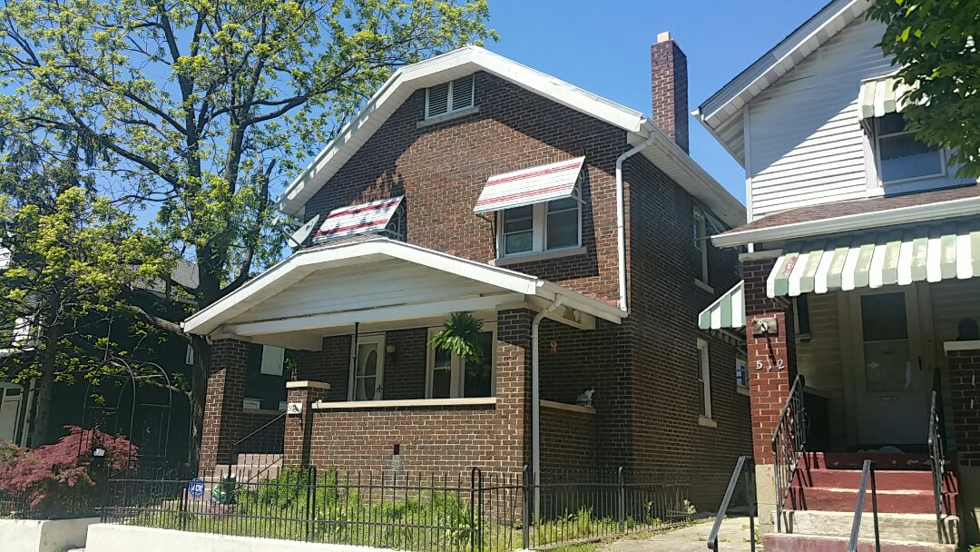 Columbus, OH - Metal roofing inspection due to improper installation of edge materials and chimney flashing.
