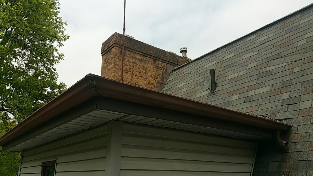 Alexandria, OH - Insurance adjustment for wind damage.