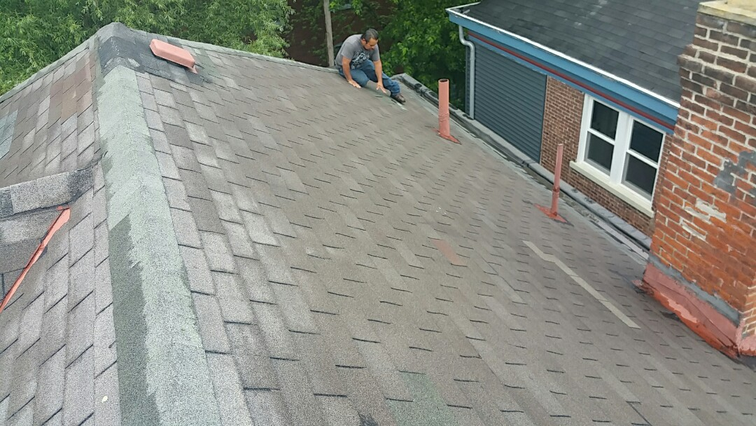 Columbus, OH - Roof inspection for leaking.