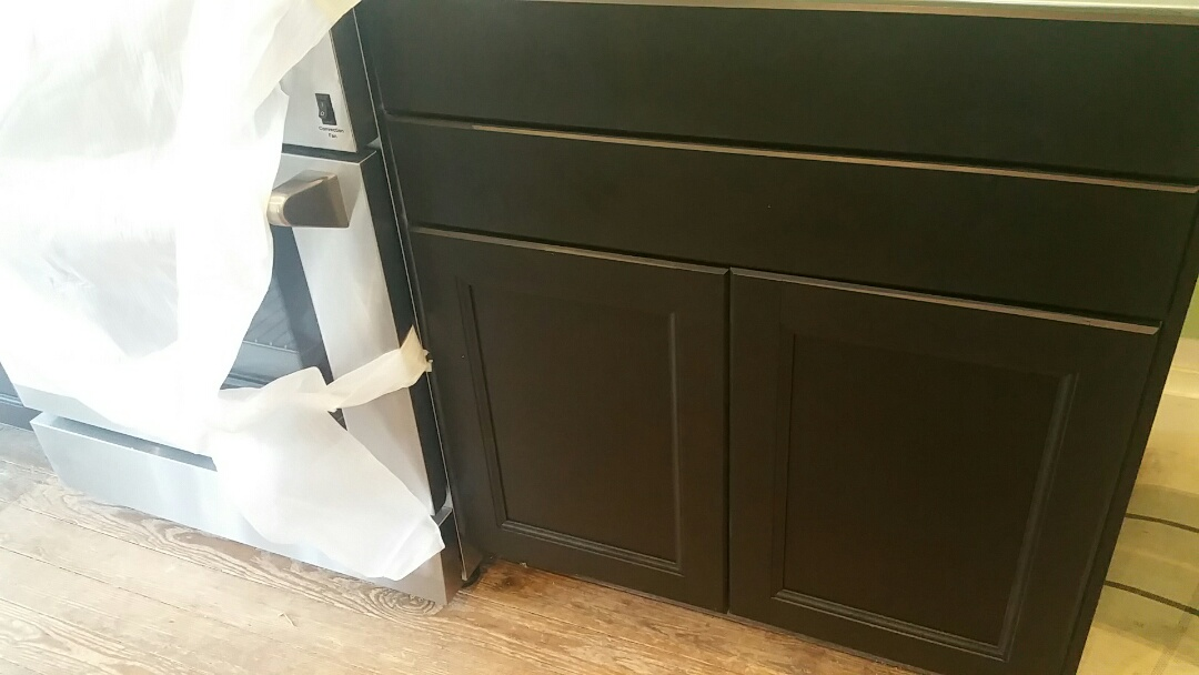 Columbus, OH - IKEA cabinet installation in this FHA 203k renovation.
