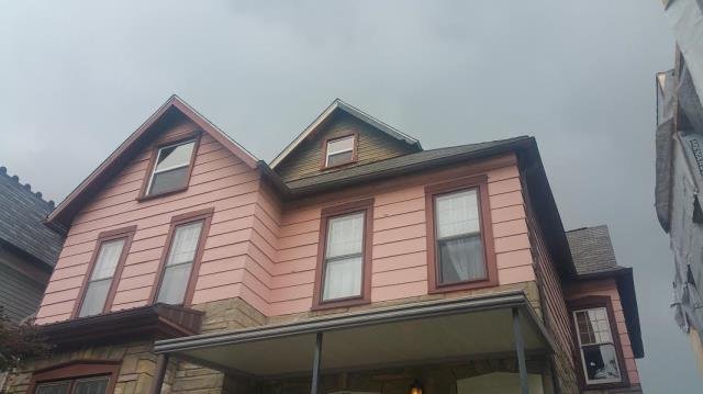 Columbus, OH - Initial appointment for exterior remodel including siding, stone work, window trim.