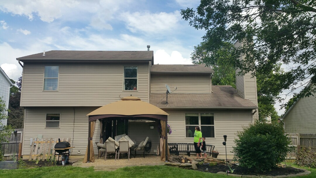 Pataskala, OH - Roof inspection for replacement due to wind damage.