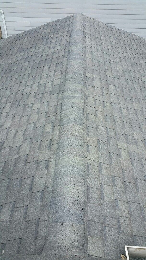 Westerville, OH - Inspection for cause of leak and soft decking.