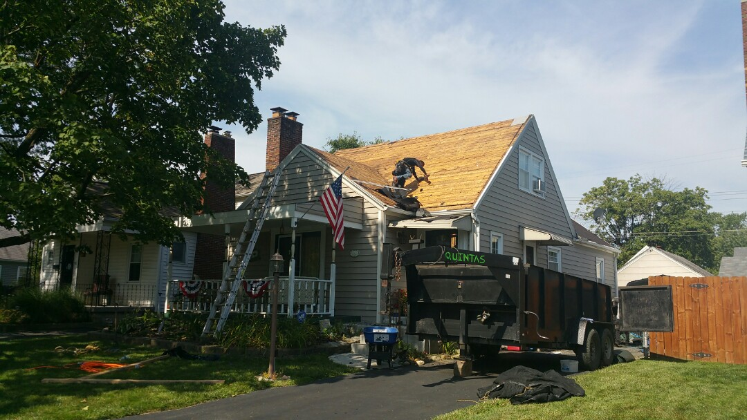 Columbus, OH - Full roof replacement with a new Matterhorn Metal Roofing System.