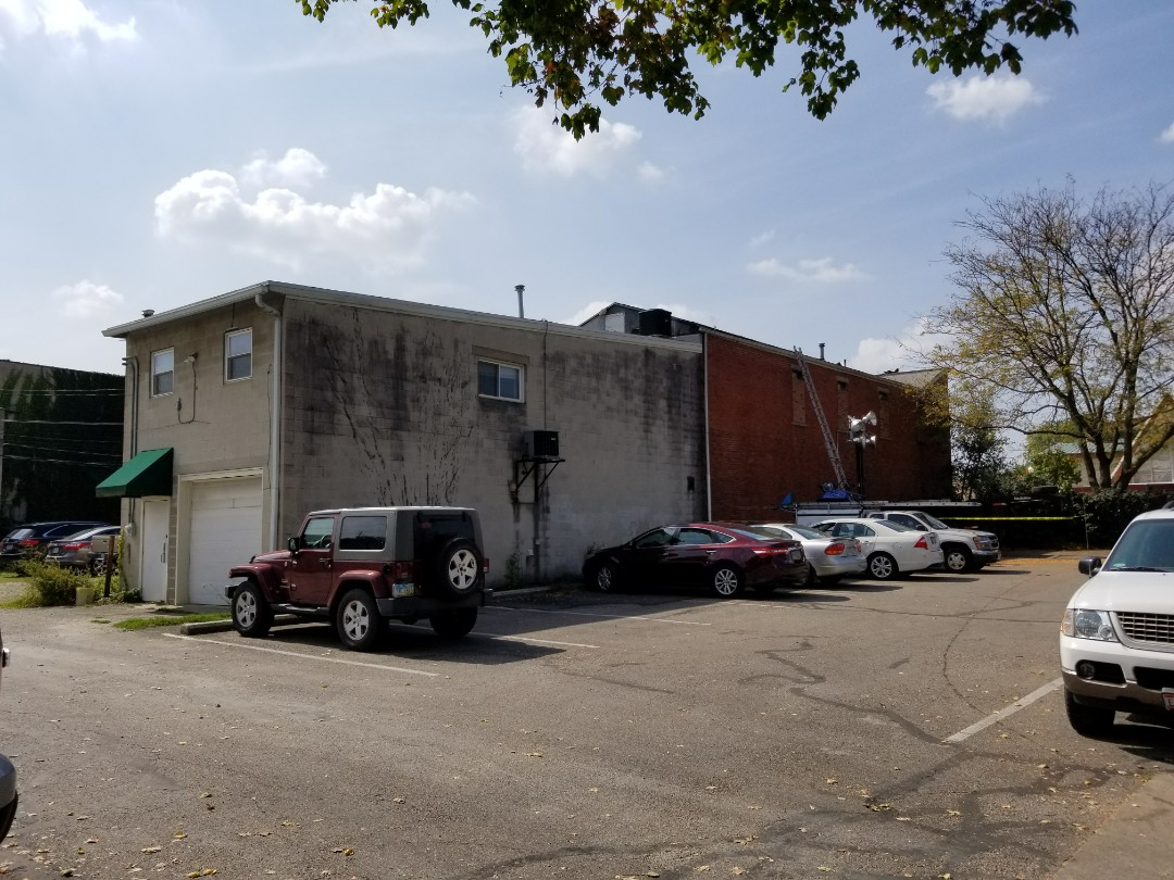 Westerville, OH - Commercial roofing project starting today in downtown Westerville.