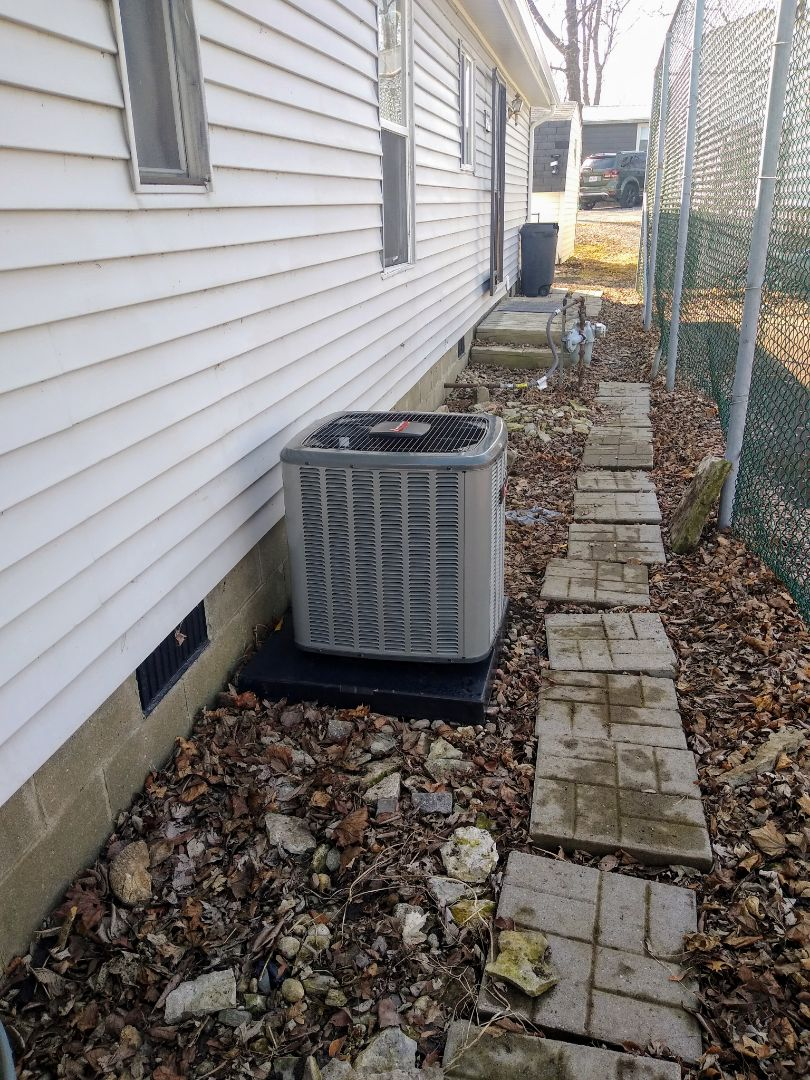 Syracuse, IN - Furnace and AC install