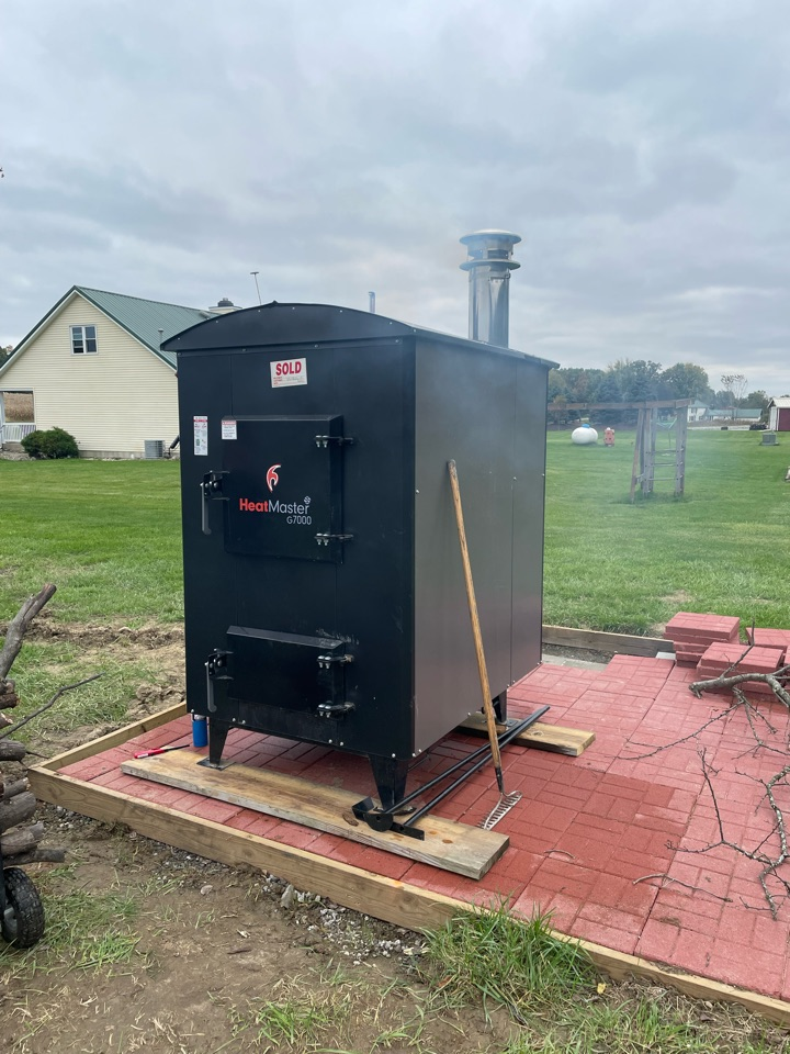 Columbia City, IN - Installed Heatmaster G700