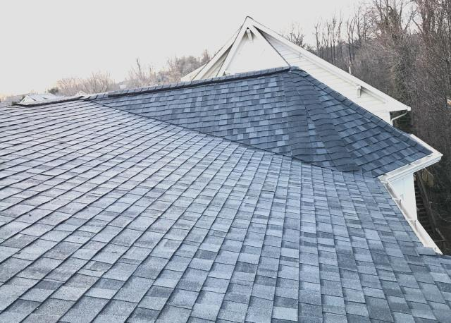 Falls Church, VA - CertainTeed Landmark Pro architectural asphalt roof installation