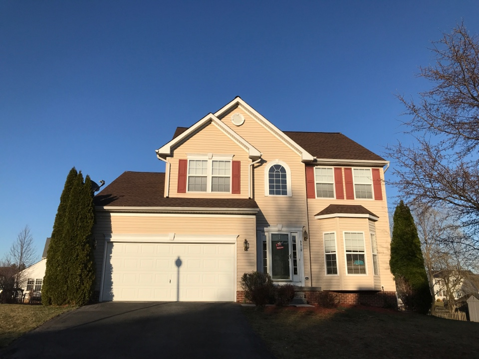 Hagerstown, MD - GAF Timberline HD Hickory Architectural Shingle