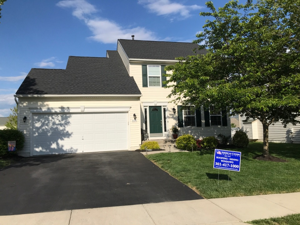 Hagerstown, MD - GAF Timberline HDZ High Definition Lifetime Shingles Charcoal