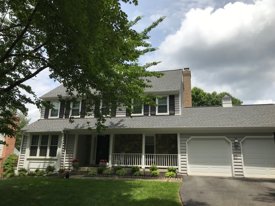 Gaithersburg, MD - Timberline HD Architectural Shingle Pewter Grey