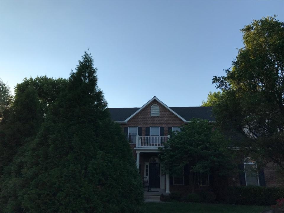 Ashburn, VA - Timberline HD Architectural Shingle Charcoal Black