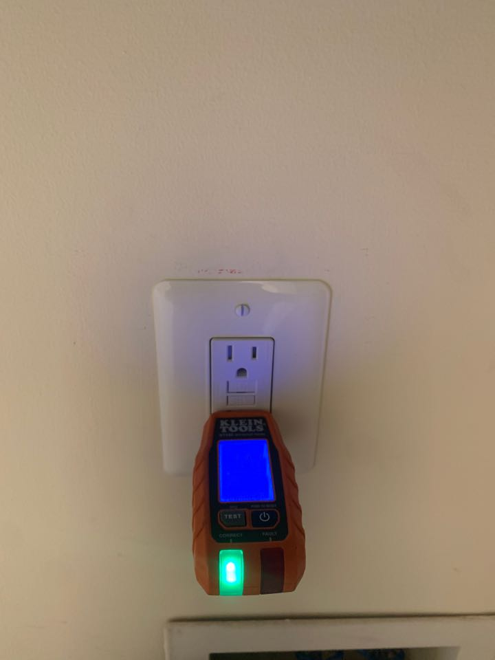 Annapolis, MD - Installed a GFCI Receptacle at the Washing Machine are one was not present previously in Annapolis, MD.
