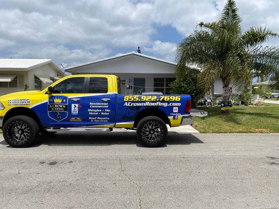 Tamarac, FL - Tarping a customer's roof