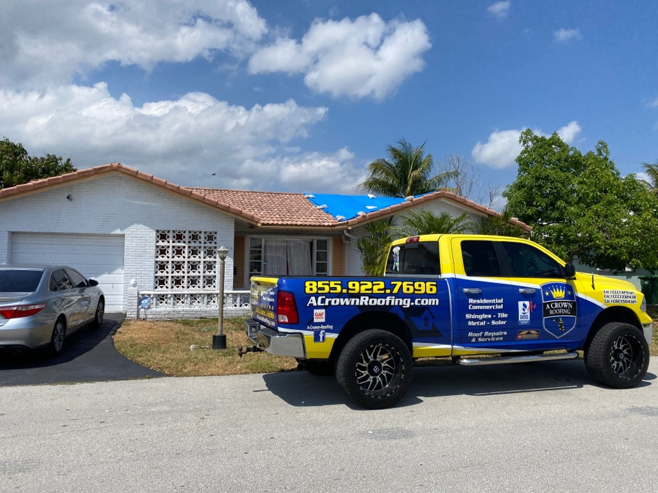Tamarac, FL - Checking in on one of our customers.