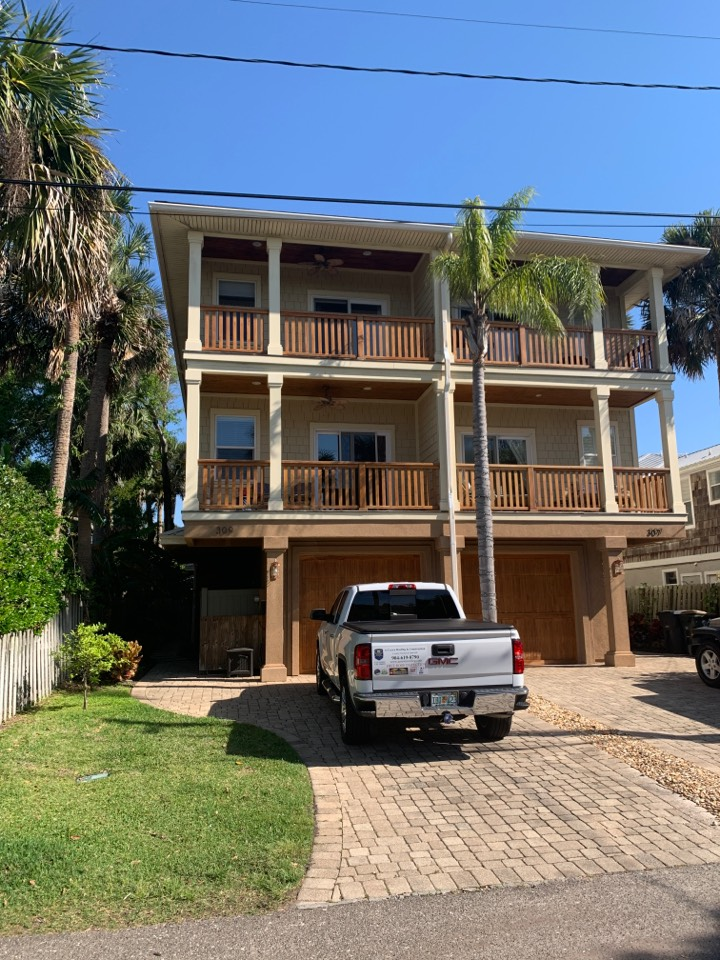 Atlantic Beach, FL - Roof Estimate for townhouse at the beach!