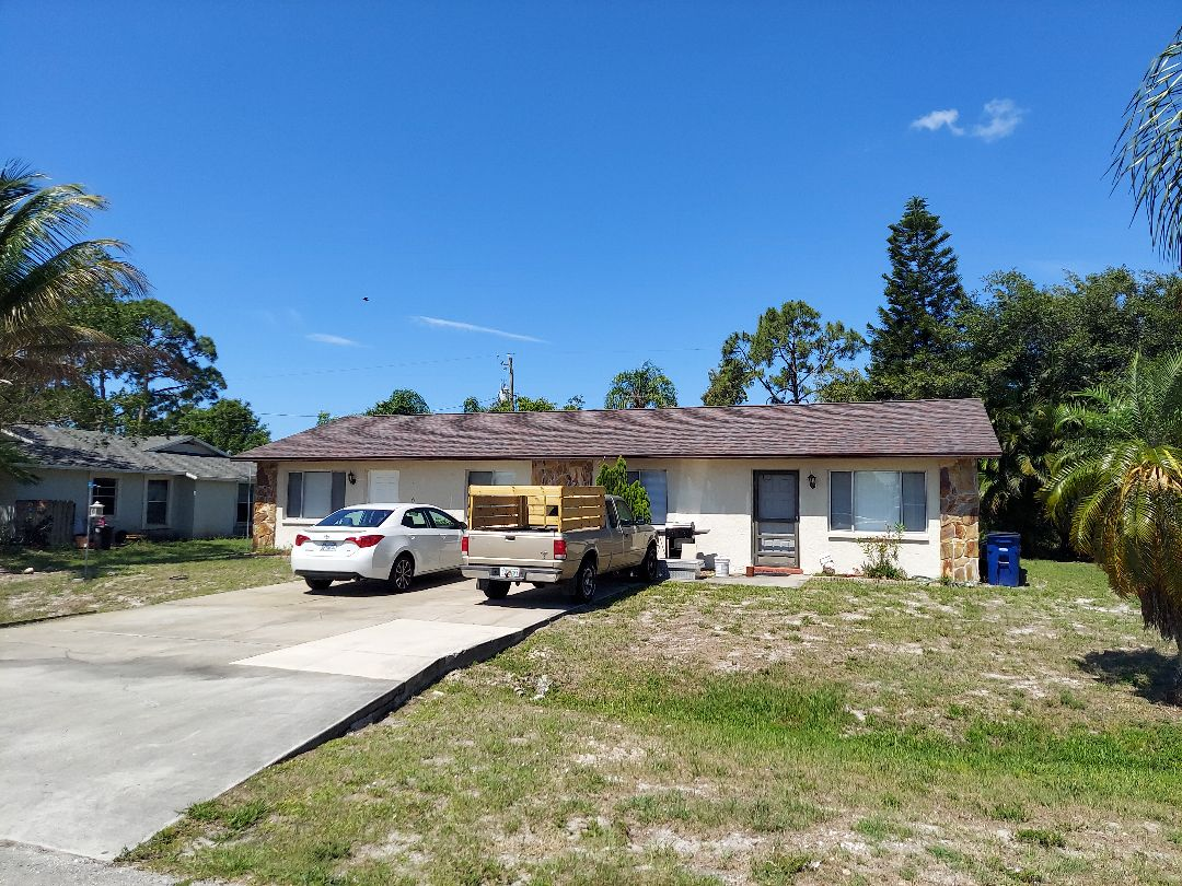 Fort Myers, FL - This roof we got 100% replacement cost to put A brand new roof on and even found additional damages to help with the deductible cost.