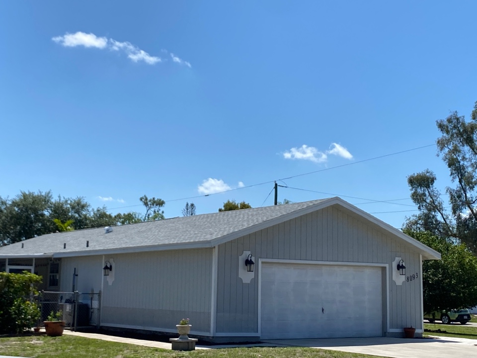 Fort Myers, FL - This roof was replaced fully covered by homeowners insurance.