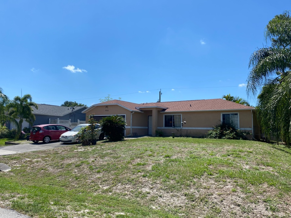 Fort Myers, FL - Another fully replaced roof by homeowners insurance.