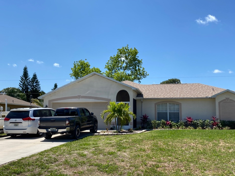 Fort Myers, FL - Another roof fully replaced by homeowners insurance.