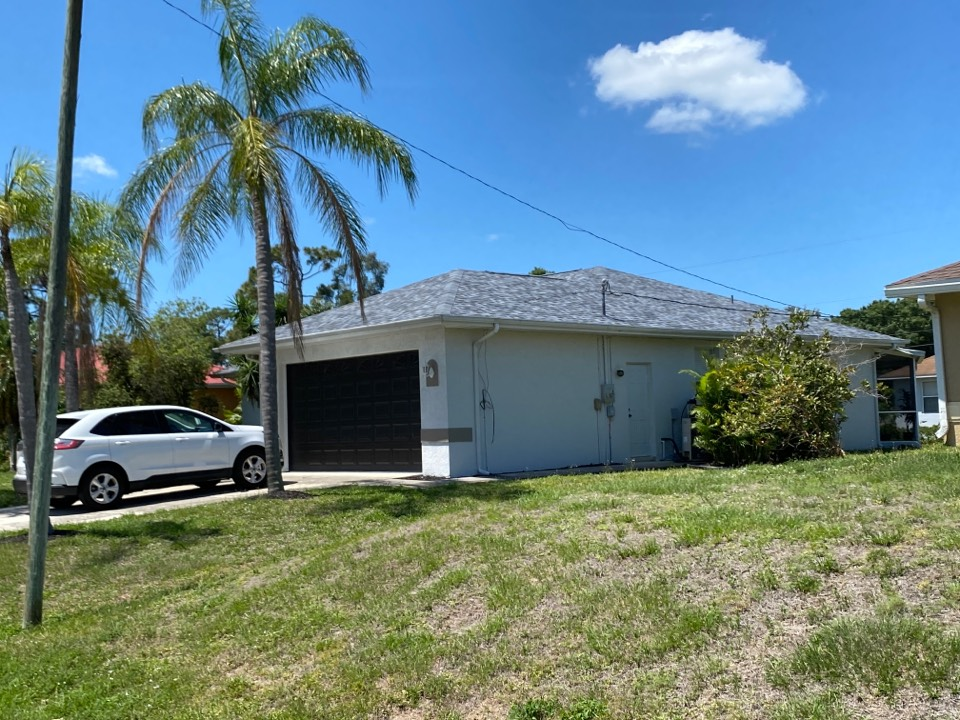 Fort Myers, FL - Another quality roof replacement with warranty!