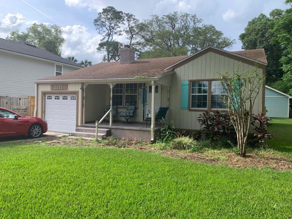 Jacksonville Beach, FL - What's for pictures.  Roof, Siding and window replacement to start soon!! Are you happy with your exterior?  Call Bruce today!