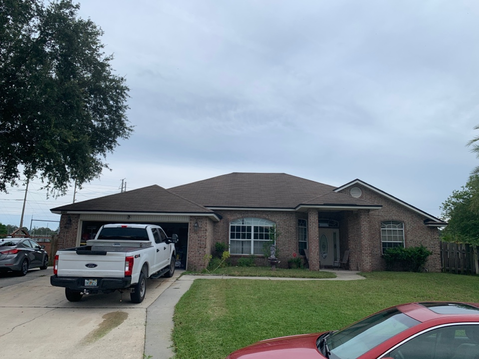 Jacksonville, FL - Another roof replacement.  Are you ready for storm season?  Call us today!