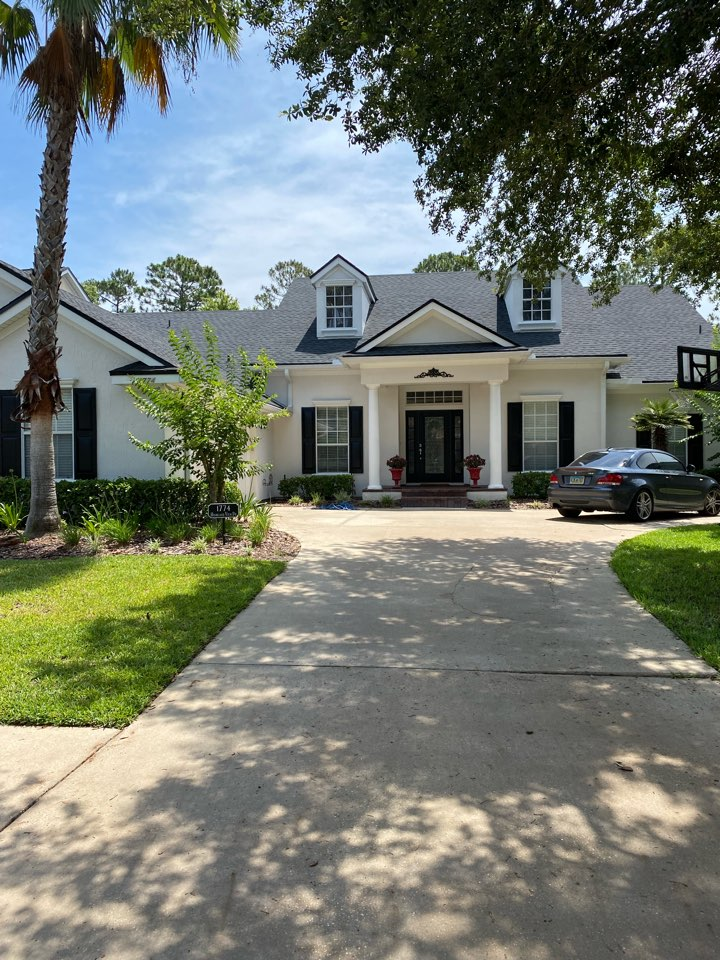 St. Augustine, FL - St Johns Golf and Country.  This beautiful home needed 200 feet of facia. Painting and downspouts per home inspection.   Just completed in time for closing.   Please call Jon today 905-349-8082