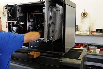 Jefferson, TX - Repairing a cooler in Jefferson, TX.