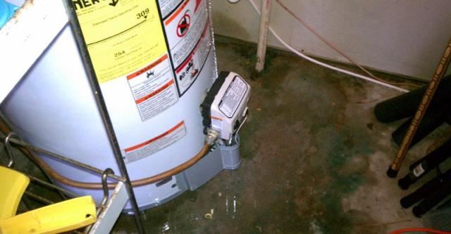 Hawkins, TX - Successfully diagnosed a water heater leak in Hawkins, TX.